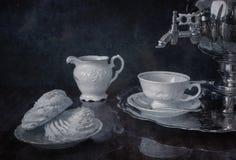 Πρόγευμα με το τσάι Στοκ Εικόνα