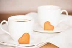 πρόγευμα ρομαντικό Στοκ φωτογραφίες με δικαίωμα ελεύθερης χρήσης