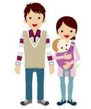 πρόγονοι μωρών ελεύθερη απεικόνιση δικαιώματος