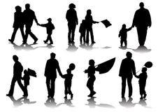 πρόγονοι παιδιών απεικόνιση αποθεμάτων