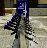 Πρόγραμμα μεριδίου πυροβόλων όπλων μετρό Στοκ φωτογραφία με δικαίωμα ελεύθερης χρήσης