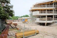 Πρόγραμμα νέας οικοδόμησης Στοκ εικόνα με δικαίωμα ελεύθερης χρήσης