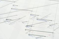 πρόγραμμα σχεδίων Στοκ εικόνα με δικαίωμα ελεύθερης χρήσης