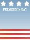 Πρόεδροι ημέρας Στοκ φωτογραφίες με δικαίωμα ελεύθερης χρήσης