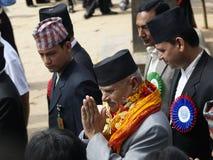 Πρόεδρος του Νεπάλ στοκ φωτογραφίες