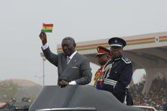 Πρόεδρος kufuor της Γκάνας John στοκ φωτογραφία με δικαίωμα ελεύθερης χρήσης
