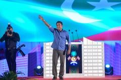 Πρόεδρος Malidve Yaameen Abdul Gayyoom Στοκ εικόνες με δικαίωμα ελεύθερης χρήσης