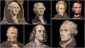 Πρόεδροι των Η. Π. Α. πορτρέτου Στοκ εικόνα με δικαίωμα ελεύθερης χρήσης