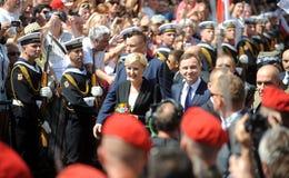 Πρόεδρος της Πολωνίας Αντρέι Duda Στοκ Εικόνες
