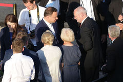 Πρόεδρος του Antoni Macierewicz ημέρας 2016 παγκόσμιας νεολαίας της Πολωνίας Andr Στοκ Φωτογραφίες