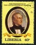 Πρόεδρος των Η. Π. Α. John Tyler στοκ φωτογραφία