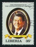 Πρόεδρος των Η. Π. Α. Ronald Reagan Στοκ εικόνα με δικαίωμα ελεύθερης χρήσης