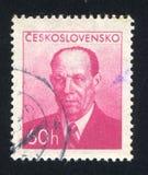 Πρόεδρος Antonin Zapotocky Στοκ φωτογραφίες με δικαίωμα ελεύθερης χρήσης