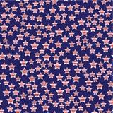 Πρόεδρος Day Seamless Pattern Στοκ Εικόνες