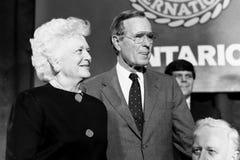 Πρόεδρος George χ θάμνων W Μπους 41$ος Πρόεδρος των Ηνωμένων Πολιτειών στοκ φωτογραφία με δικαίωμα ελεύθερης χρήσης