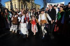 Πρόεδρος Komorowski Bronislaw Polnad στοκ φωτογραφίες