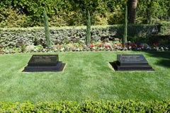 Πρόεδρος Nixon Grave Marker στοκ εικόνες