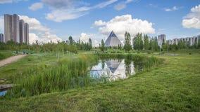 Πρόεδρος Park σε Astana, Καζακστάν Στοκ Εικόνες