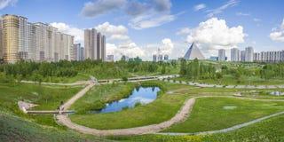 Πρόεδρος Park σε Astana, Καζακστάν Στοκ φωτογραφία με δικαίωμα ελεύθερης χρήσης
