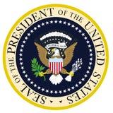Πρόεδρος Seal Στοκ φωτογραφία με δικαίωμα ελεύθερης χρήσης