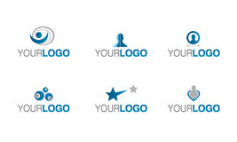 πρόληψη ασφαλιστικών λογότυπων Στοκ εικόνα με δικαίωμα ελεύθερης χρήσης