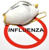 πρόληψη γρίπης Στοκ Φωτογραφία