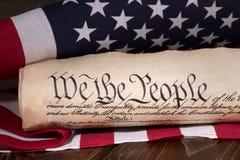 Πρόλογος στο Ηνωμένο σύνταγμα στοκ εικόνες με δικαίωμα ελεύθερης χρήσης