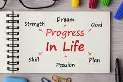 Πρόοδος στη ζωή στοκ εικόνες