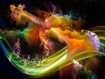 Πρόοδος της μουσικής διανυσματική απεικόνιση
