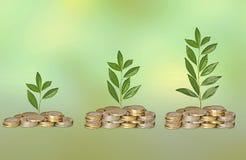 Πρόοδος της πράσινης επιχείρησης στοκ εικόνα με δικαίωμα ελεύθερης χρήσης