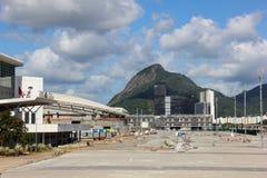 Πρόοδος της κατασκευής του ολυμπιακού πάρκου του Ρίο 2016 στοκ εικόνες με δικαίωμα ελεύθερης χρήσης