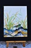 Πρόοδος Watercolor στοκ φωτογραφία με δικαίωμα ελεύθερης χρήσης
