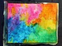 Πρόοδος Watercolor στοκ φωτογραφία