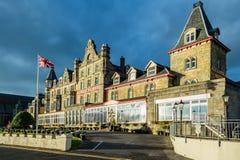 Πρόσβαση σε Αλεξάνδρα Hotel σε Oban Στοκ φωτογραφία με δικαίωμα ελεύθερης χρήσης