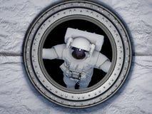 Πρόσβαση στο διάστημα Στοκ εικόνα με δικαίωμα ελεύθερης χρήσης