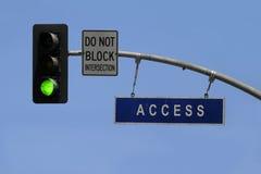 πρόσβαση Στοκ Εικόνες