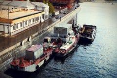 Πρόσδεση ποταμών Στοκ Εικόνα