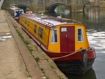 Πρόσδεση narrowboats σε Tewkesbury στοκ εικόνες με δικαίωμα ελεύθερης χρήσης