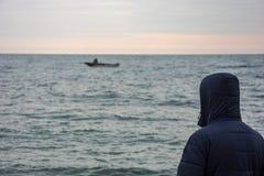 Πρόσεξε τη βάρκα Στοκ Φωτογραφίες