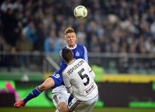 Πρόσθετη ένωση Legia Βαρσοβία Ruch Κορζώφ της Τ-Mobile Στοκ φωτογραφίες με δικαίωμα ελεύθερης χρήσης