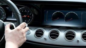 Πρόσθετη μεγάλη οθόνη με τα όργανα ελέγχου αυτοκινήτων φιλμ μικρού μήκους