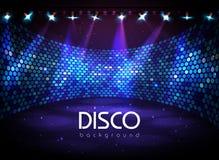 πρόσθετη μορφή disco ανασκόπησης Στοκ Εικόνα
