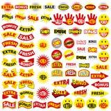 πρόσθετη φρέσκια πώληση επιδομάτων Στοκ φωτογραφία με δικαίωμα ελεύθερης χρήσης
