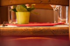 Πρόσκληση για ένα καλό γεύμα Στοκ εικόνα με δικαίωμα ελεύθερης χρήσης
