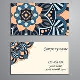 Πρόσκληση, επαγγελματική κάρτα ή έμβλημα με το πρότυπο κειμένων Στρογγυλό ΛΦ στοκ εικόνες με δικαίωμα ελεύθερης χρήσης