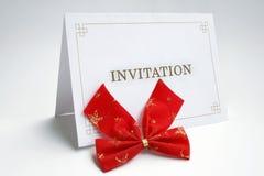 πρόσκληση καρτών Στοκ φωτογραφία με δικαίωμα ελεύθερης χρήσης