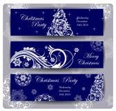 Πρόσκληση γιορτής Χριστουγέννων Σχέδιο ιπτάμενων ή αφισών διακοπών Χριστουγέννων διάνυσμα ελεύθερη απεικόνιση δικαιώματος