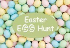 Πρόσκληση σε ένα αυγό Πάσχας Κυνήγι Στοκ Εικόνες