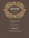 πρόσκληση στο γάμο Στοκ Εικόνα