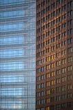 Πρόσοψη Βερολίνο ουρανοξυστών Kollhoff Στοκ Εικόνα